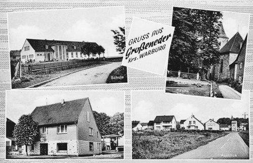 Postkarte Großeneder 1969